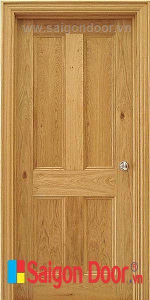 Cửa gỗ tự nhiên 04A