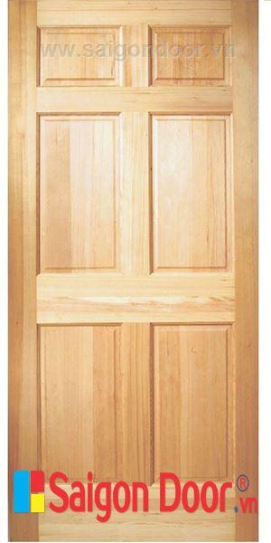 Cửa gỗ tự nhiên 06A