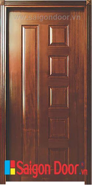 Cửa gỗ HDF VENEER 6B – SAPELE