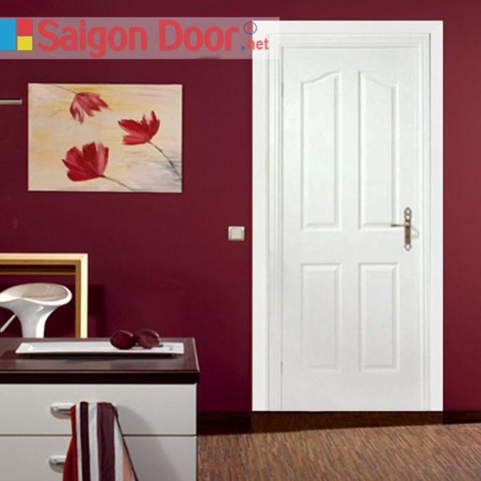 Cửa gỗ HDF SGD.4A-C1 đa dạng về màu sắc cho khách hàng lựa chọn.