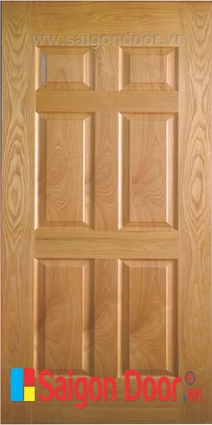 Cửa gỗ HDF VENEER 6A – ASH