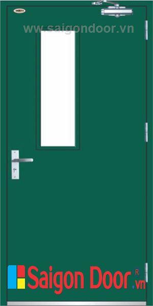 Cửa thép chống cháy TCC-P1G1A