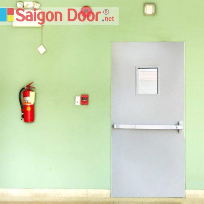 Cửa thép chống cháy TCC-P1G1BG