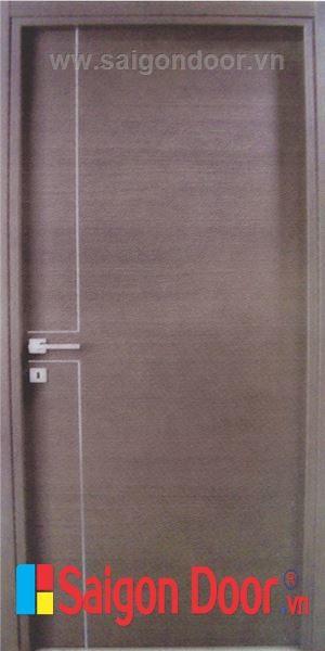 CỬA GỖ MDF LAMINATE M1R2 thuộc cửa gỗ công nghiệp MDF.