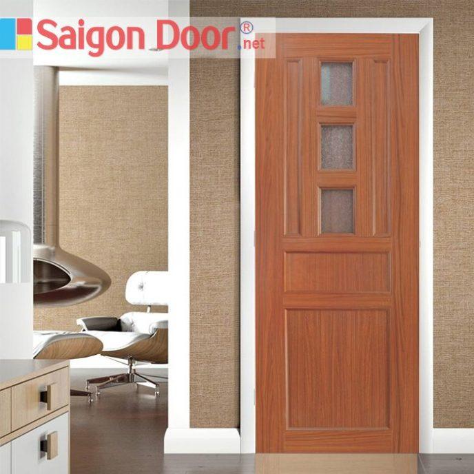 Cửa Nhựa Vân Gỗ Y@door SGD YY-42 làm từ hạt nhựa PVC cao cấp.