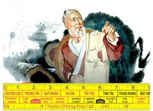 Chọn kích thước Lỗ Ban nguyên thủy chỉ có 1 đoạn 42,9 cm.