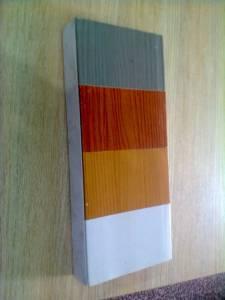 Bảng Màu Cửa Nhựa Vân In còn gọi làcửa nhựa giả gỗ.
