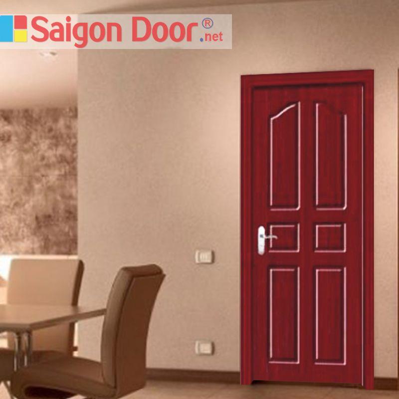 cửa gỗ phủ PVC