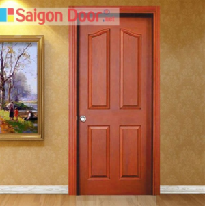 Hình ảnh thực tế của cửa gỗ giá rẻ HDF