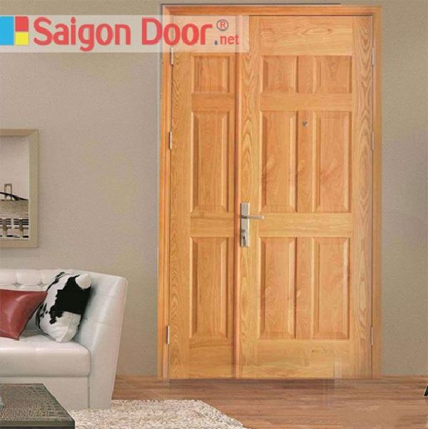 Mẫu cửa gỗ công nghiệp HDF Veneer với thiết kế độc đáo, thích hợp cho những ngôi nhà được thiết kế theo phong cách hiện đại