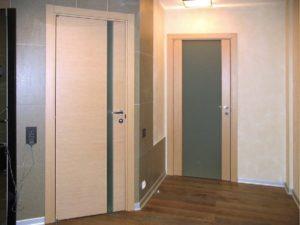 Một số hình ảnh thực tế trong các không gian lắp đặt cửa gỗ nhựa Composite