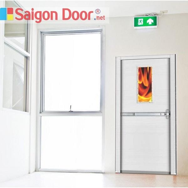 Mẫu cửa thép chống cháy tại SAIGONDOOR