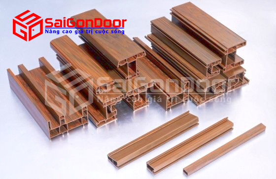 Cấu tạo thanh nhựa và cấu trúc của cửa nhựa lõi thép vân gỗ