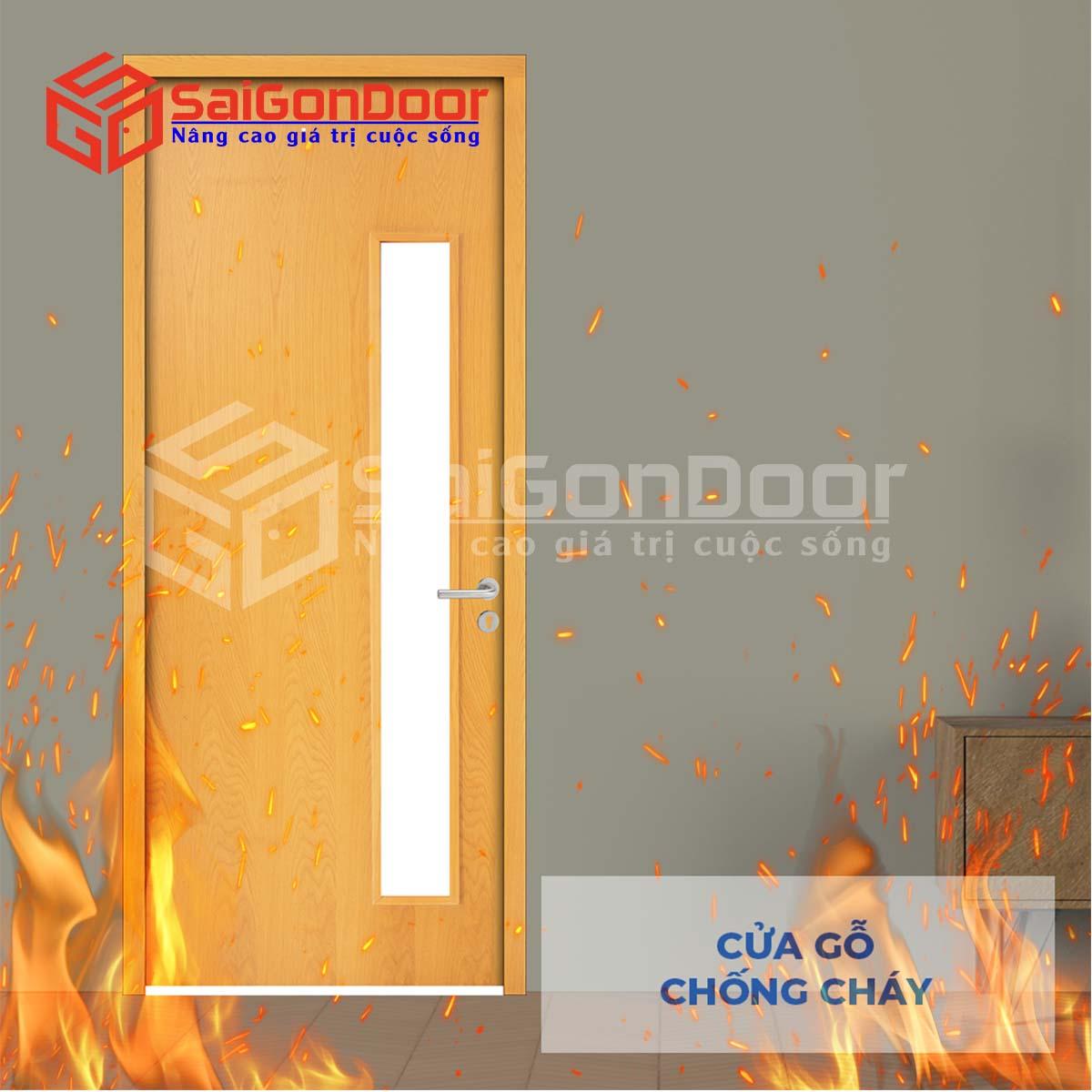 Cửa gỗ chống cháy với tính năng cách âm tạo khoảng không gian riêng tư cần thiết khi sử dụng