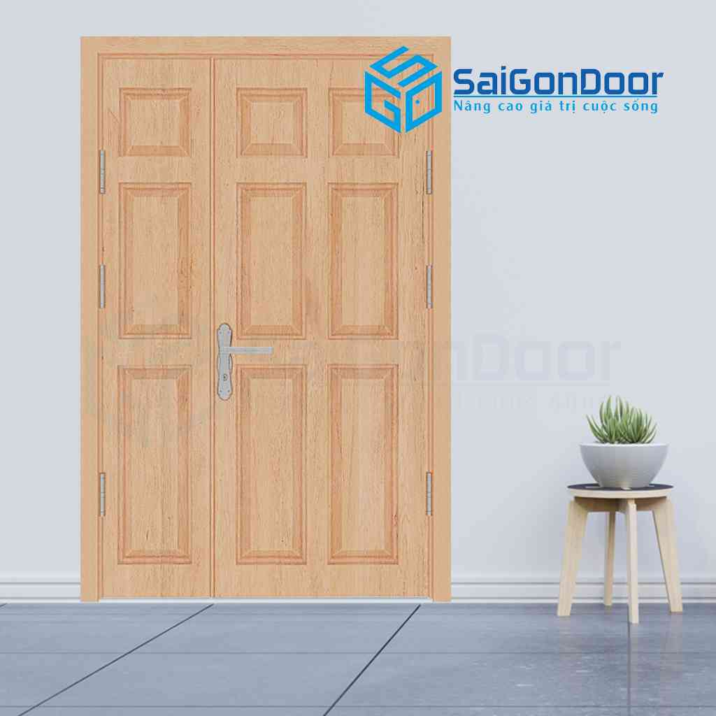 Mẫu cửa gỗ HDF Veneer dạng MBC