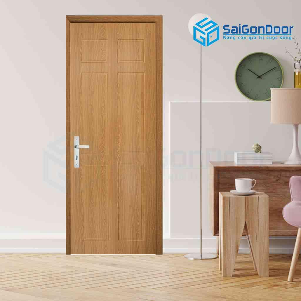 Màu sắc cửa phù hợp với những gia chủ có mệnh kim với màu nâu đất