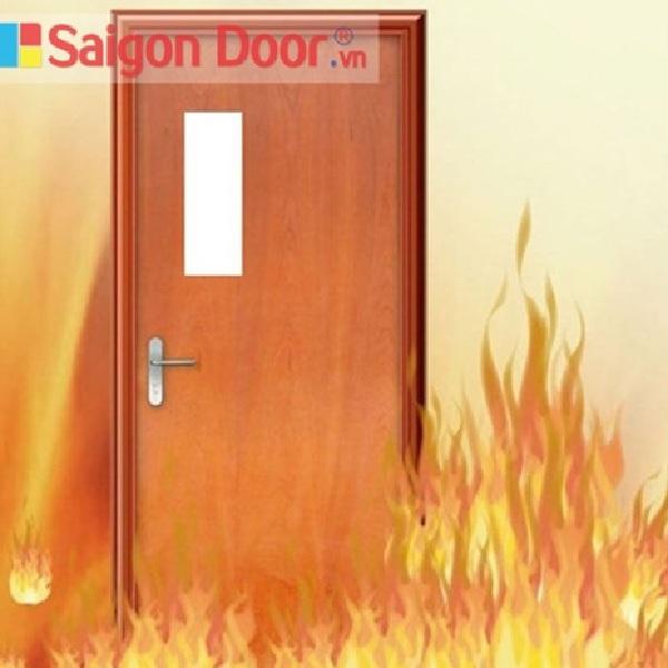 Cửa chống cháy có thể chống chịu trong đám cháy với thời gian dài: 60 phút, 90 phút, 120 phút tùy loại