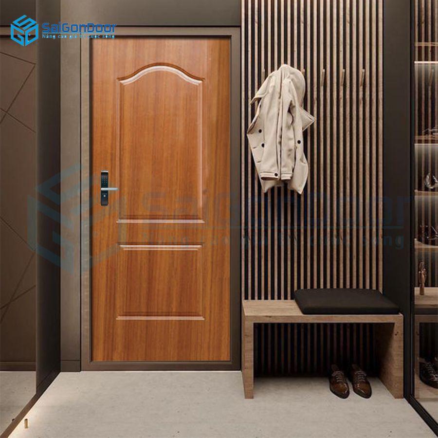 Bộ cửa gỗ công nghiệp HDF 2A-C8