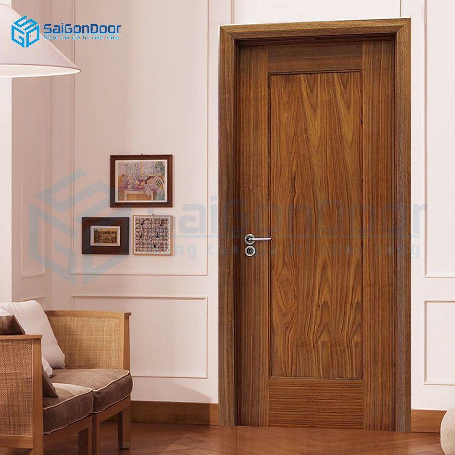 Bộ cửa gỗ công nghiệp MDFVeneer1