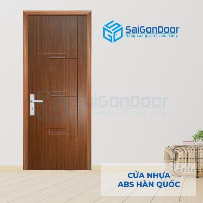 Cửa nhựa ABS Hàn Quốc 111-W0901-4