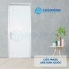 Cửa nhựa ABS Hàn Quốc 113-M8707