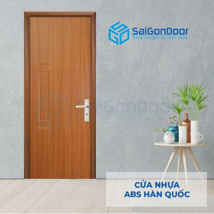 Cửa nhựa ABS Hàn Quốc 116-M8707-3