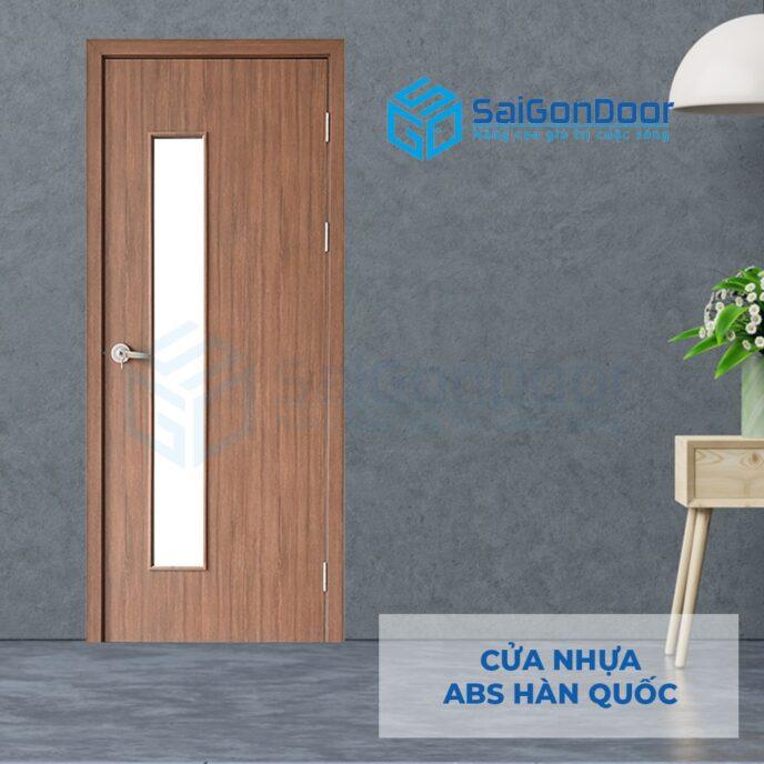 Cửa nhựa ABS Hàn Quốc 202-W0901-2