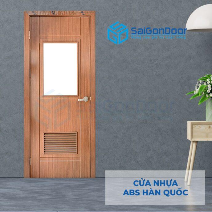 Cửa nhựa ABS Hàn Quốc 203GL-W0901