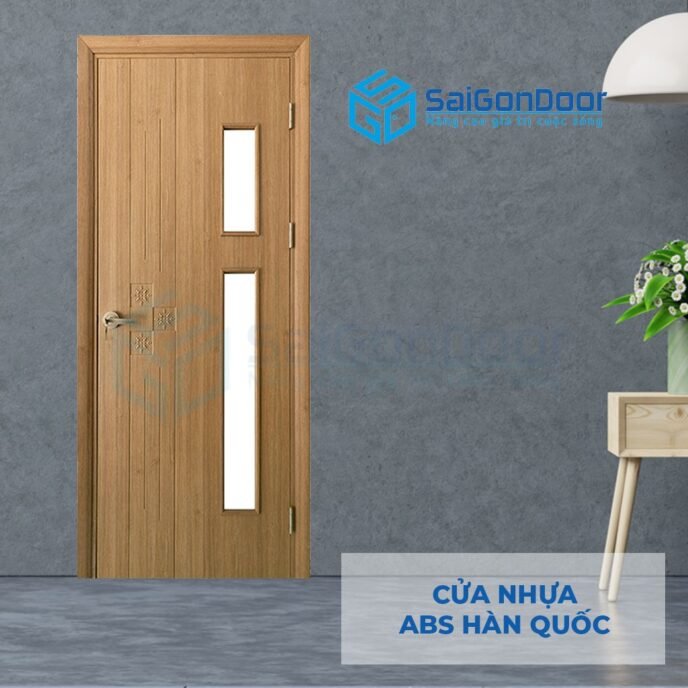 Cửa nhựa ABS Hàn Quốc 205-MQ808-2