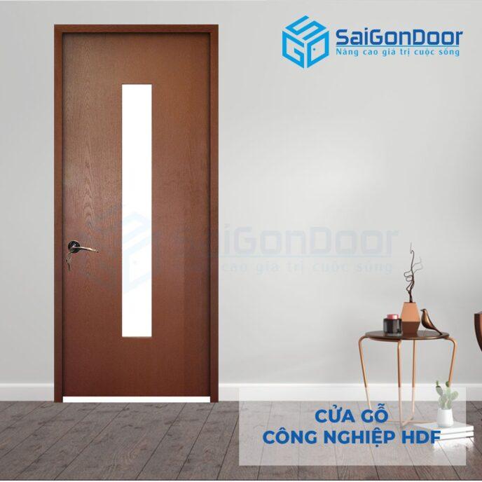 Cửa gỗ công nghiệp HDF 1G C11