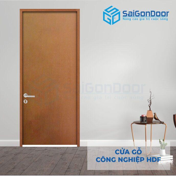Cửa gỗ công nghiệp HDF 1P C13