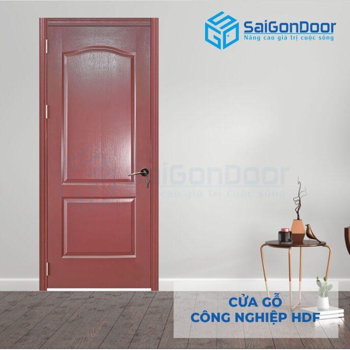 Cửa gỗ công nghiệp HDF 2A 12