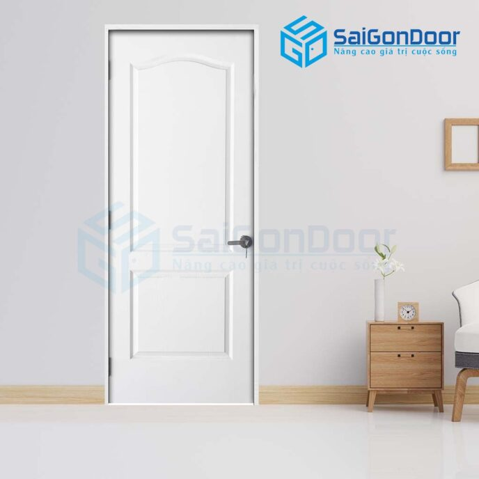 Cửa gỗ phòng ngủ 2A C1 (2)