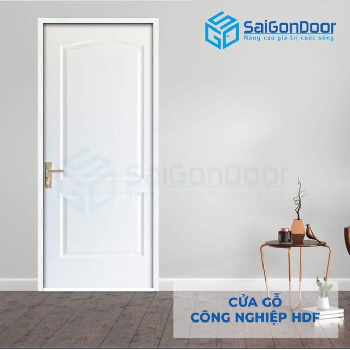 Cửa gỗ công nghiệp HDF 2A C1