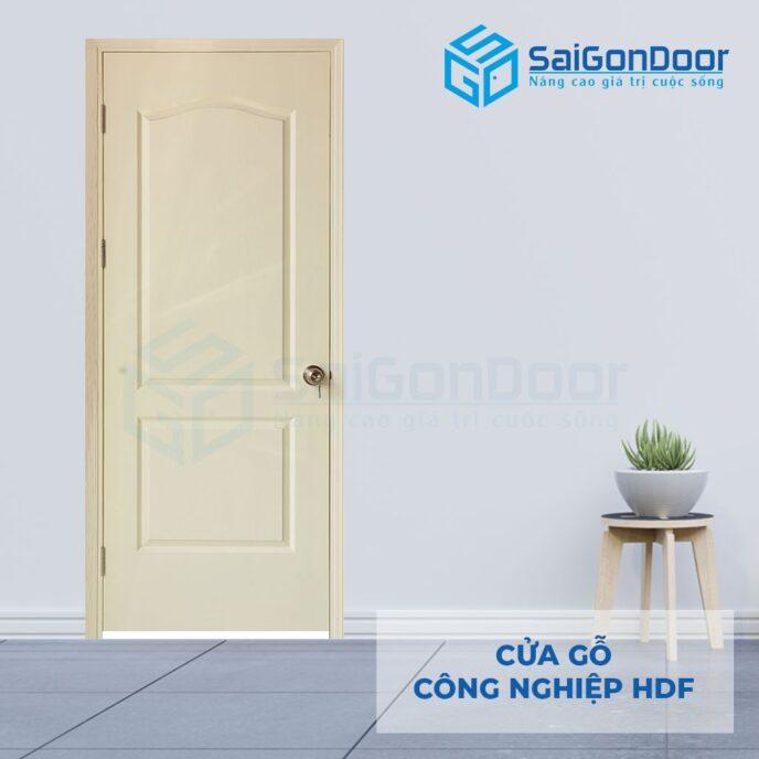 Cửa gỗ công nghiệp HDF 2A C2 2