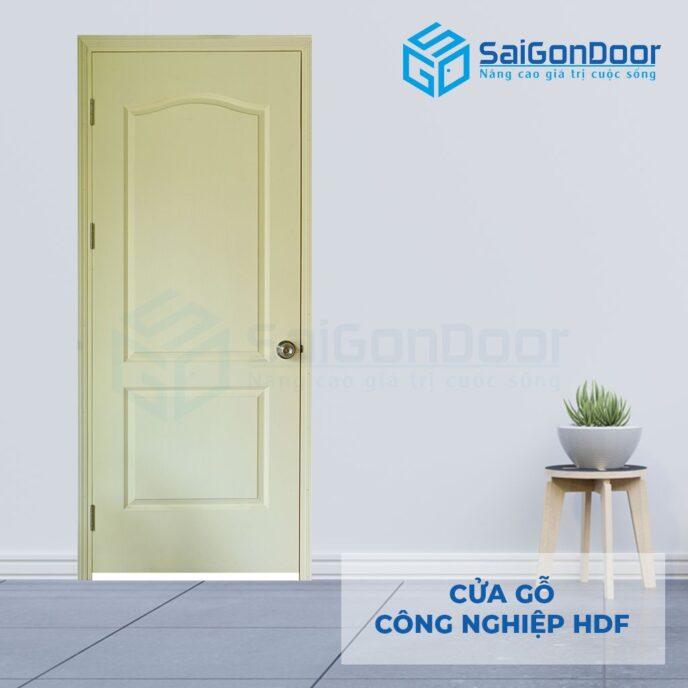 Cửa gỗ công nghiệp HDF 2A C2