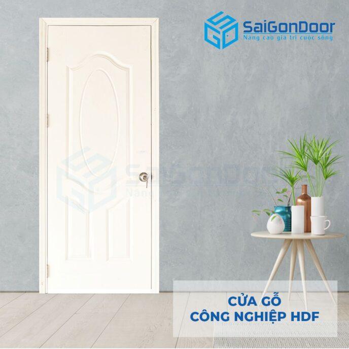 Cửa gỗ công nghiệp HDF 3A C1 1