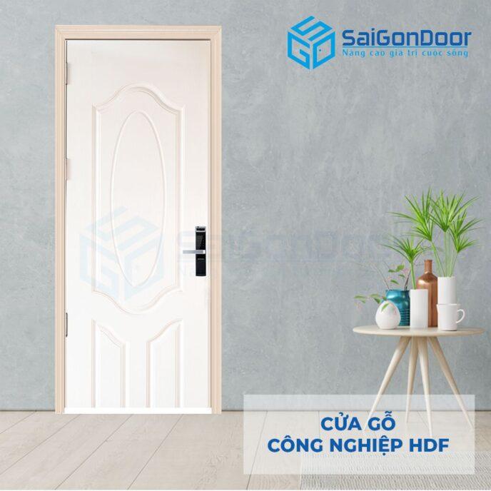 Cửa gỗ công nghiệp HDF 3A C1 2