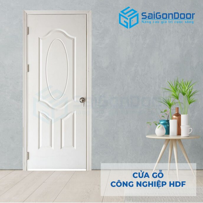 Cửa gỗ công nghiệp HDF 3A C1 3