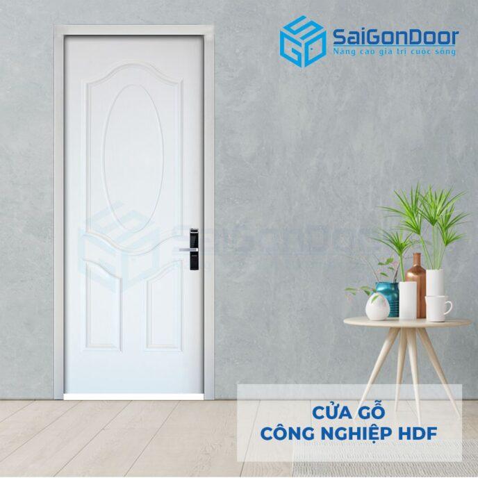 Cửa gỗ công nghiệp HDF 3A C1 5