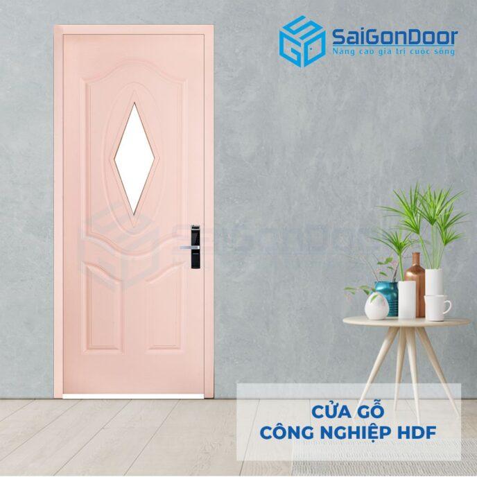 Cửa gỗ công nghiệp HDF 3AGL C4 2