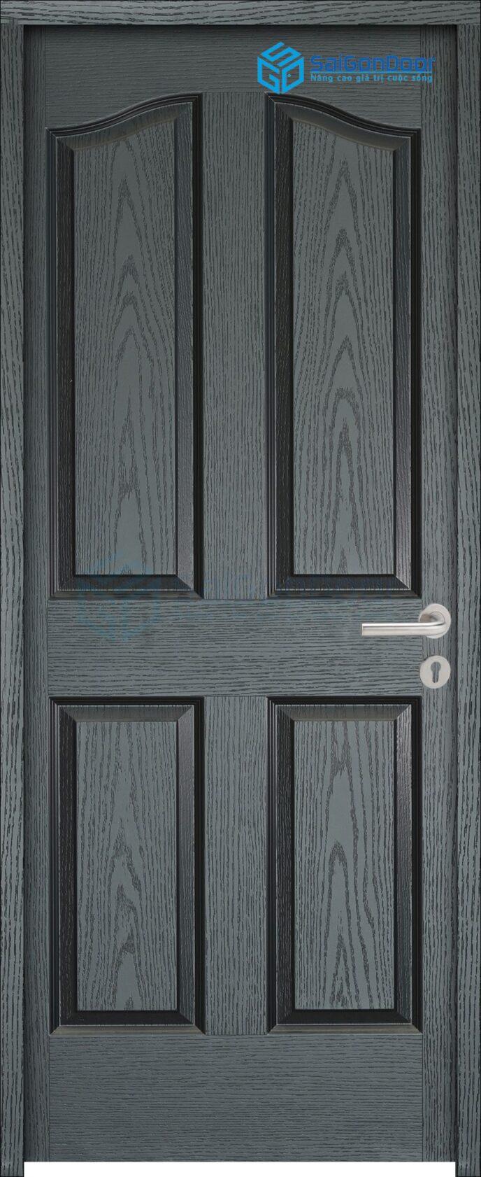 Cửa gỗ công nghiệp HDF 4A C14 1