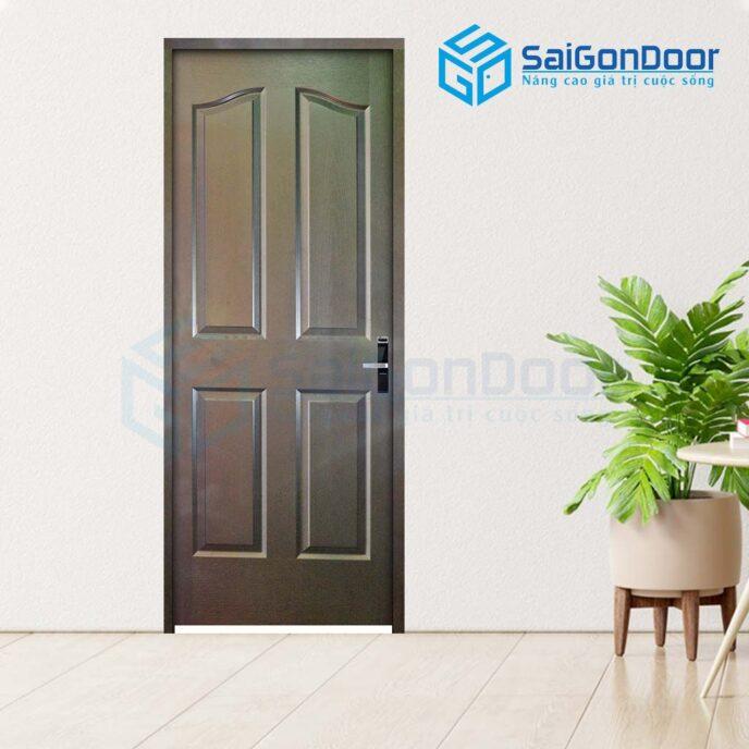 Cửa gỗ phòng ngủ 4A C14 (3)
