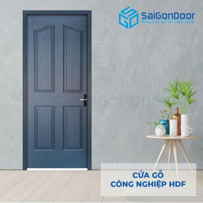 Cửa gỗ công nghiệp HDF 4A C14 4