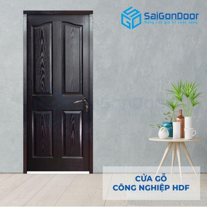 Cửa gỗ công nghiệp HDF 4A C14