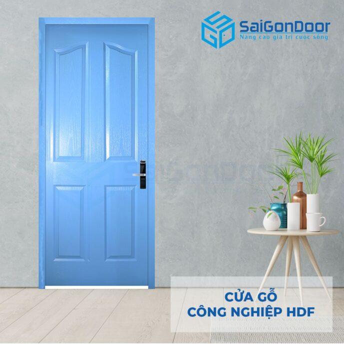 Cửa gỗ công nghiệp HDF 4A C7 2