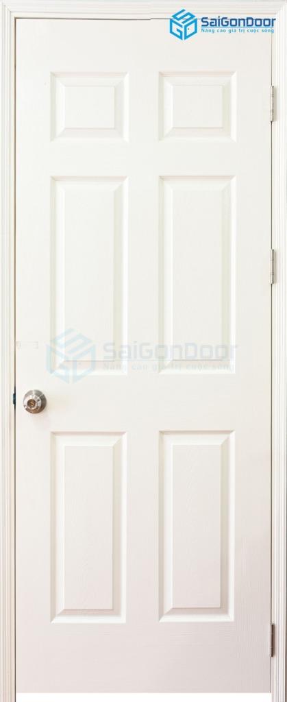 Cửa Gỗ Giá Rẻ 6A C1 1