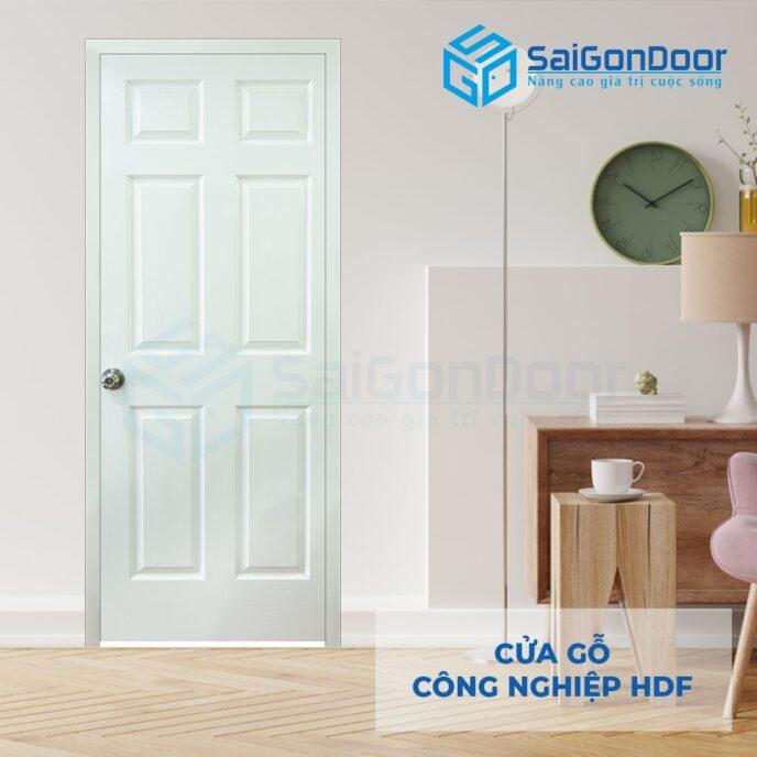 Cửa gỗ công nghiệp HDF 6A C1 4