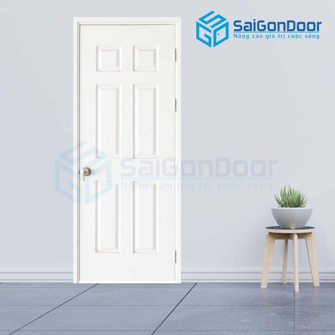 Cửa gỗ phòng ngủ 6A C1 (5)