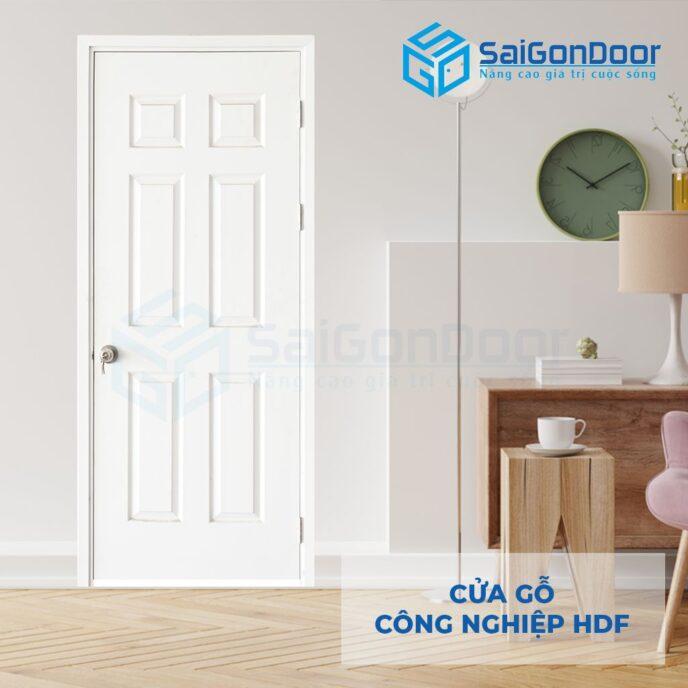 Cửa gỗ công nghiệp HDF 6A C1 5